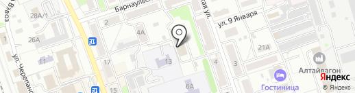 Рема на карте Новоалтайска
