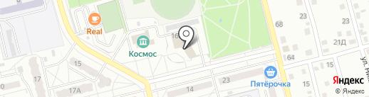 Сбербанк, ПАО на карте Новоалтайска