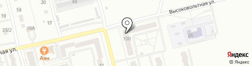 Стройсиб на карте Новоалтайска