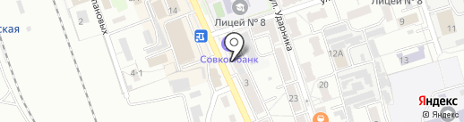 КУПЕЦ на карте Новоалтайска