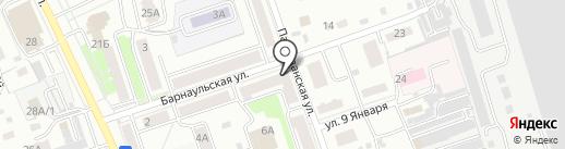 СИБИРСКАЯ СТОМАТОЛОГИЯ на карте Новоалтайска
