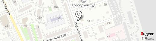 Горный ветер на карте Новоалтайска