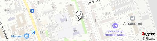 Шиномонтажная мастерская на карте Новоалтайска