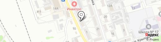 Хозяйственный магазин на карте Новоалтайска