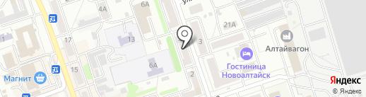 Обувной магазин на карте Новоалтайска