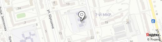 Магазин солнцезащитных очков и зонтов на карте Новоалтайска