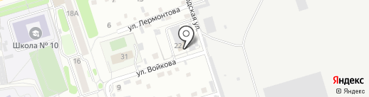 Пожарная часть №26 г. Новоалтайска на карте Новоалтайска