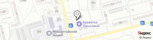 Заправка на карте Новоалтайска