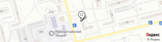 НОВОФАРМ на карте Новоалтайска