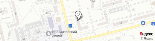 АкваСфера на карте Новоалтайска