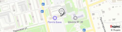 Мировые судьи г. Новоалтайска на карте Новоалтайска