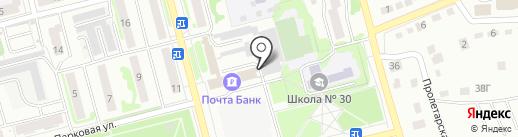 НТСК на карте Новоалтайска