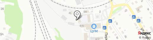 Виконт на карте Новоалтайска