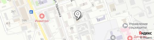 Меркурий на карте Новоалтайска
