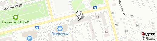 Один на один на карте Новоалтайска