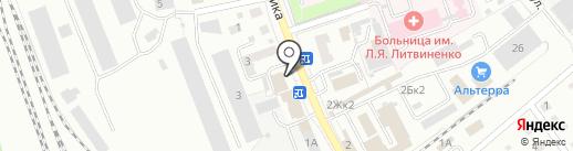 Будьте здоровы на карте Новоалтайска