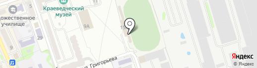 Каток на карте Новоалтайска