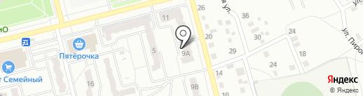ДеТвоРа на карте Новоалтайска