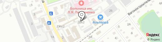 Любимая дача на карте Новоалтайска