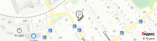 Центр занятости населения г. Новоалтайска на карте Новоалтайска