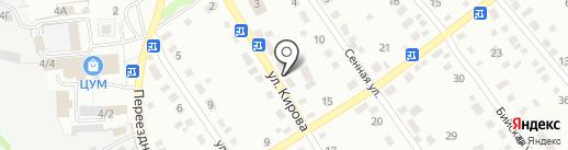 Кировский на карте Новоалтайска