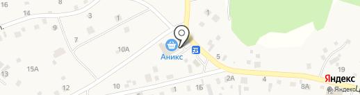 Аникс на карте Фирсово