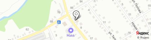 Мария-Ра на карте Новоалтайска