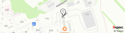 АЛТ АВТО на карте Новоалтайска