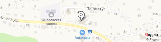 Мария-Ра на карте Фирсово