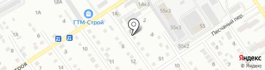 Тринити на карте Новоалтайска