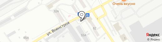 Продовольственный магазин на карте Новоалтайска