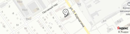 Хмарский Ю.Г. на карте Новоалтайска