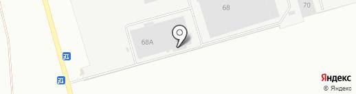 АЛТАЙХЛЕБ на карте Новоалтайска