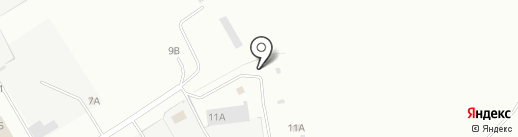 Вудмастер на карте Новоалтайска