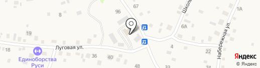 Сеть платежных терминалов на карте Санниково