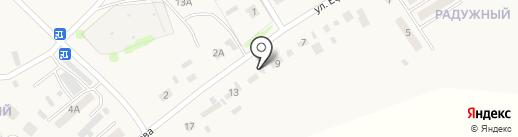 Шиномонтажная мастерская на ул. Ефремова на карте Санниково