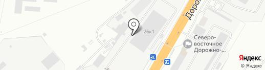 СКПОЛИМЕР на карте Новоалтайска