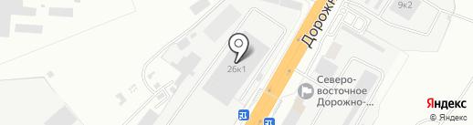 Ремонтно-механическая компания на карте Новоалтайска