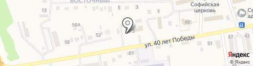 Матрёшка на карте Березовки