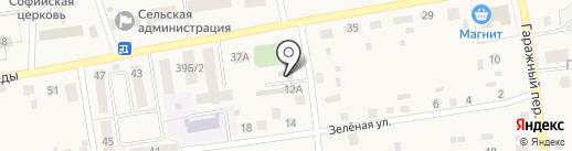 Березка на карте Березовки