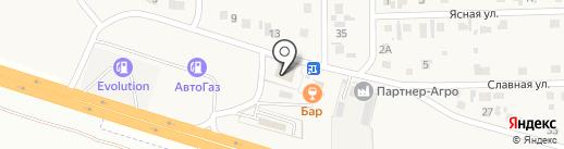 КОРПОРАЦИЯ ЕНИСЕЙ на карте Нового