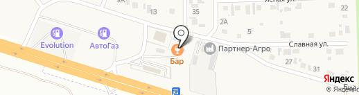 Заправка на карте Нового