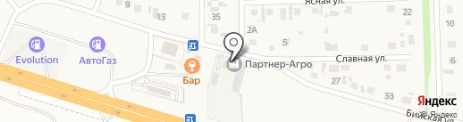 Транспортная компания на карте Нового