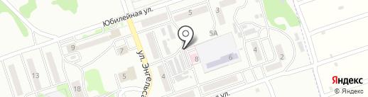 Здравпункт ст. Укладочный на карте Новоалтайска