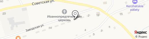 Старый Привал на карте Солоновки