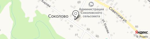 Магазин хозяйственных товаров на карте Соколово