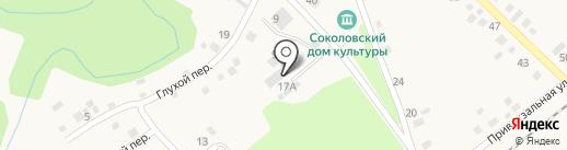 Пивной маркет на карте Соколово