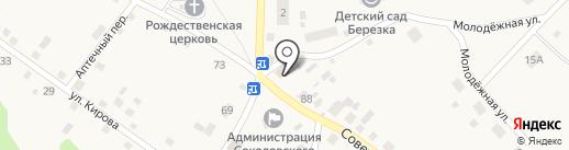 Почтовое отделение на карте Соколово
