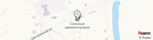 Буревестник, МУП на карте Ануйского