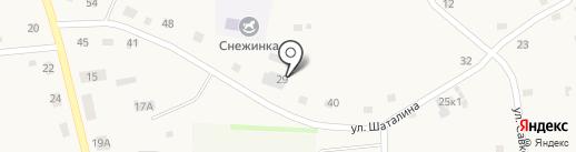 Ателье на карте Новотырышкино